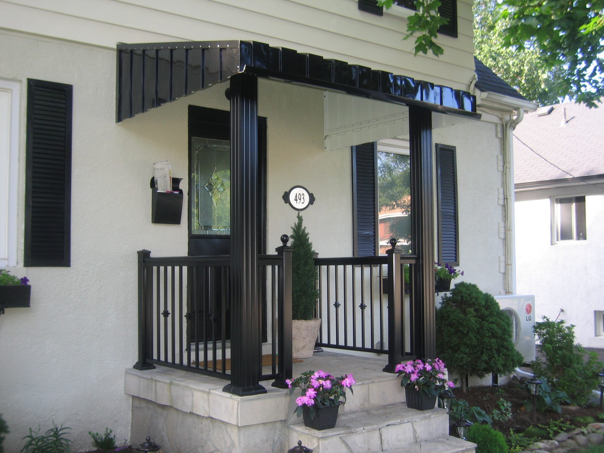 posts front post to cedar pertaining aluminum porch design ideas hd exotic columns home steps within railings