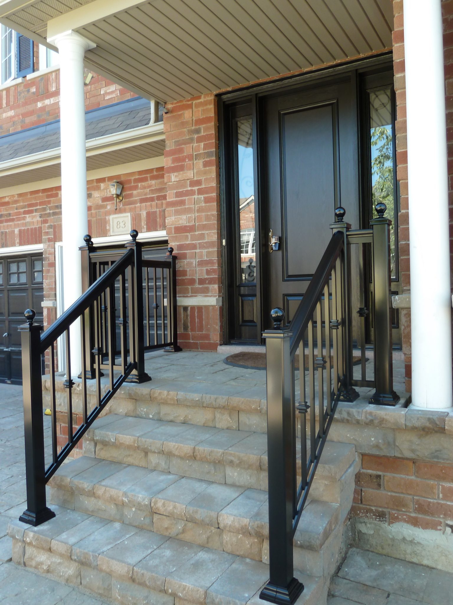 Out front railings