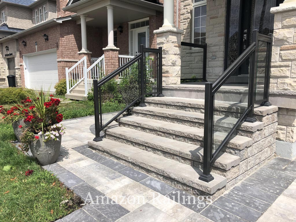 Stylish Glass Railings in Toronto With Frames