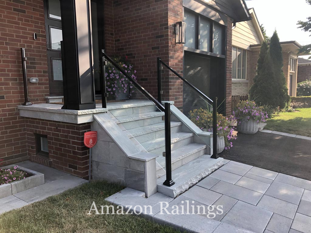 Sturdy Glass Railings in Toronto With Frames