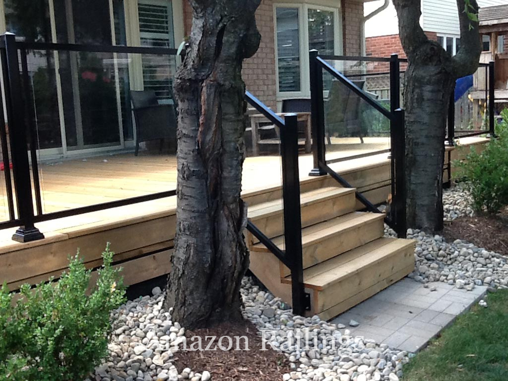 Our Budget-Friendly Glass Railings Enhance Your Curb Appeal