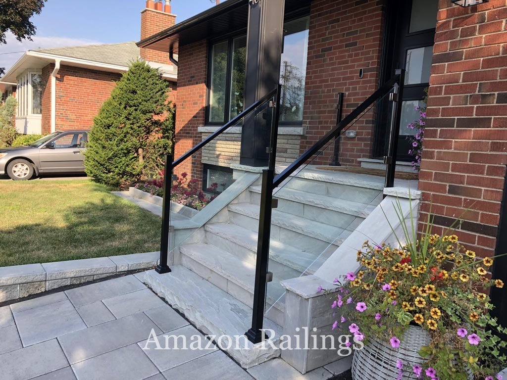 Provide Structure to Your Steps With Our Glass Railings