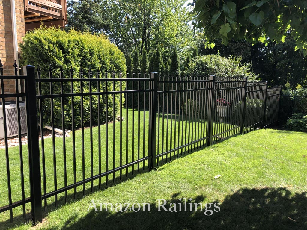 Aluminum Picket Fence for Safety & Security