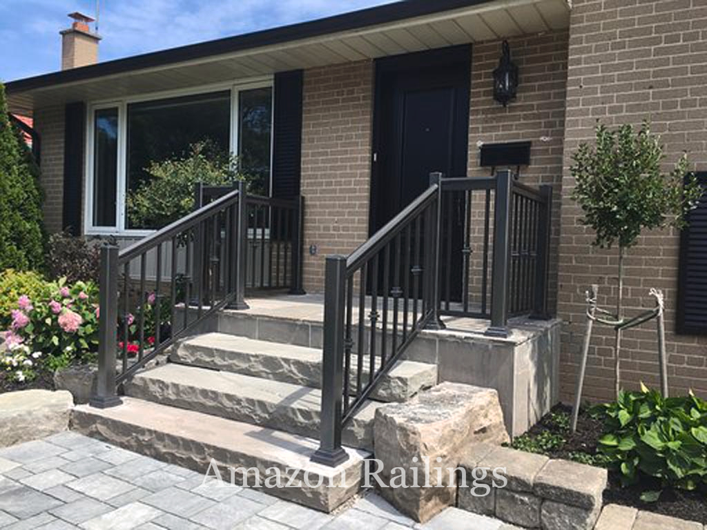 Our Secure Porch Picket Railings For Your Home