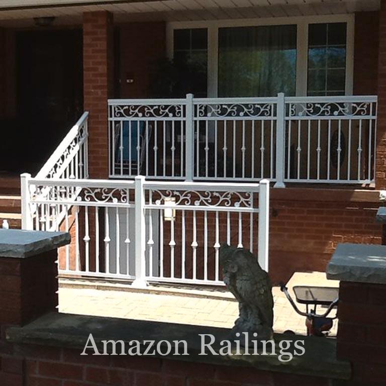 Premium White Picket Railings For Your Porch