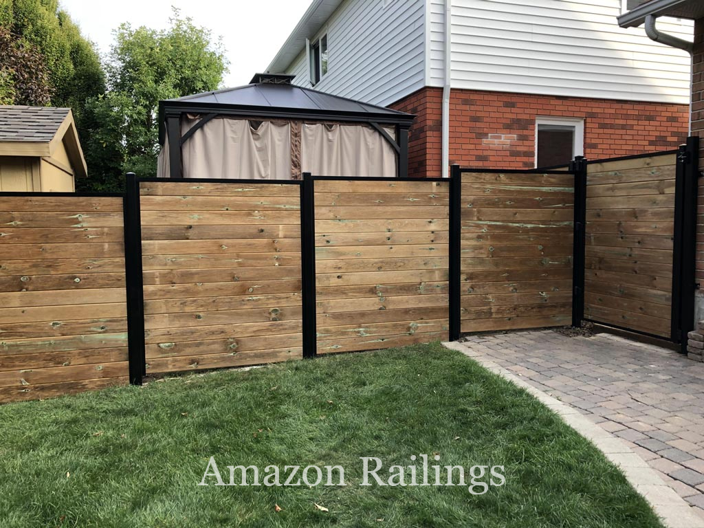 High-Quality Wood Privacy Fence for Homes