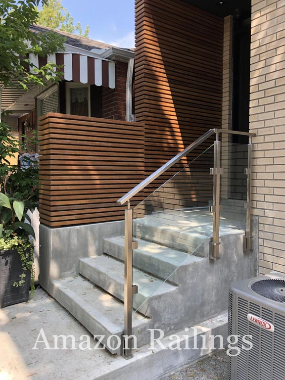 High-Grade Stainless Steel Railings for Stairs